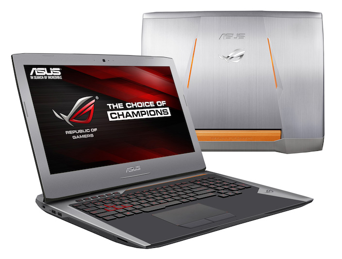 Asus Gepublic of Gamers G752 - nixanbal
