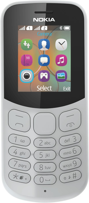 Nokia Grey Rational Front DS 300DPI