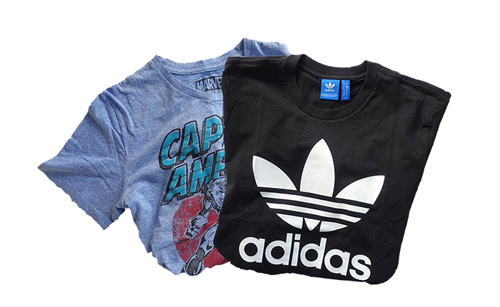 adidas & marvel t-shirt