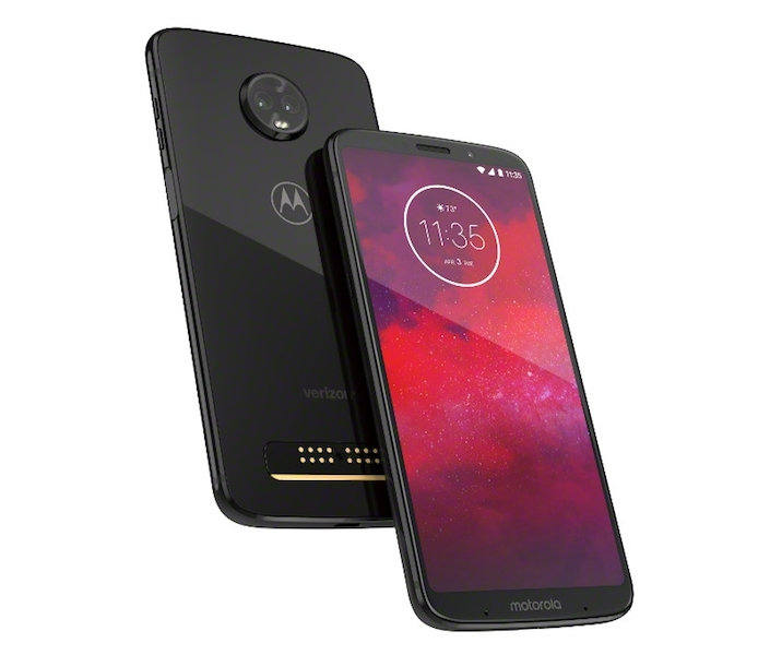 MotoZ3 - Verizon - Black - PDP Hero