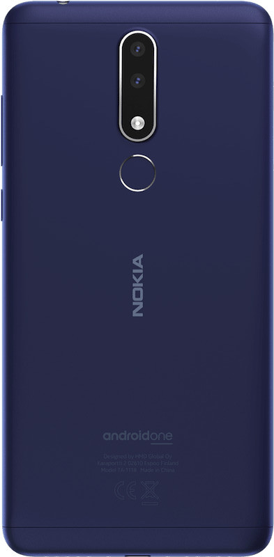 nokia 3 1 Plus-design-back