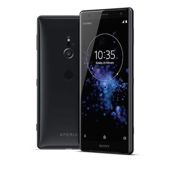 Xperia XZ2 Liquid Black Group 1