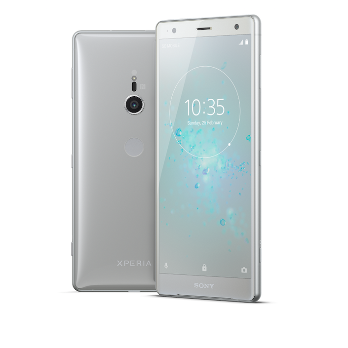 Xperia XZ2 Liquid Silver Group 1
