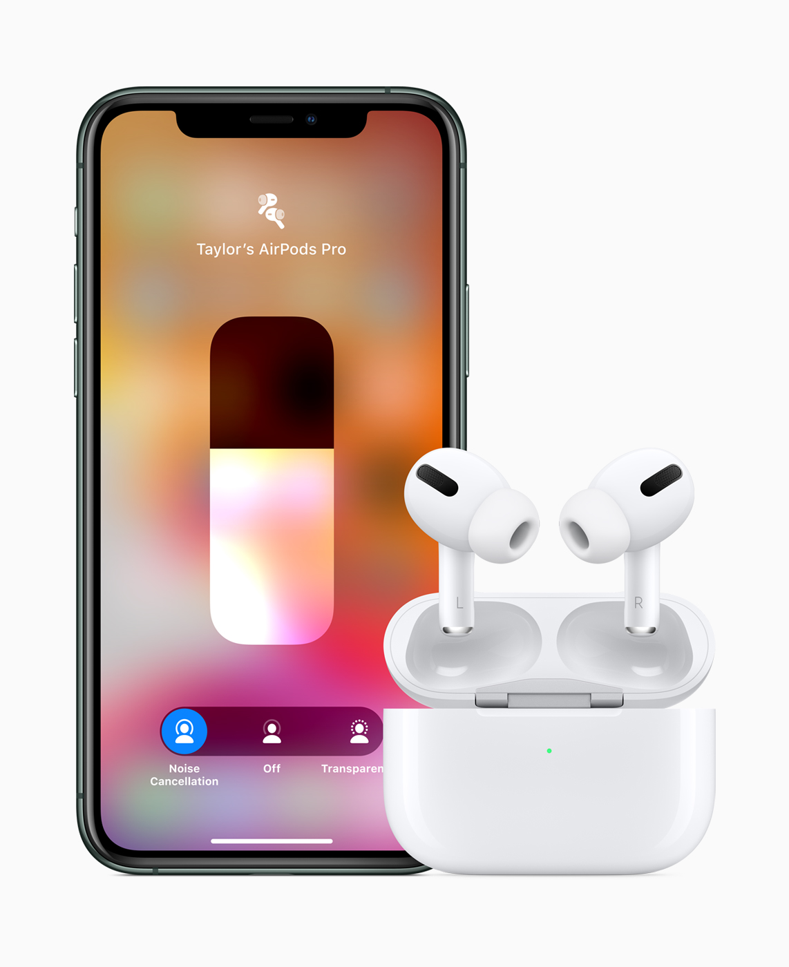 Apple AirPods-Pro iPhone11-Pro