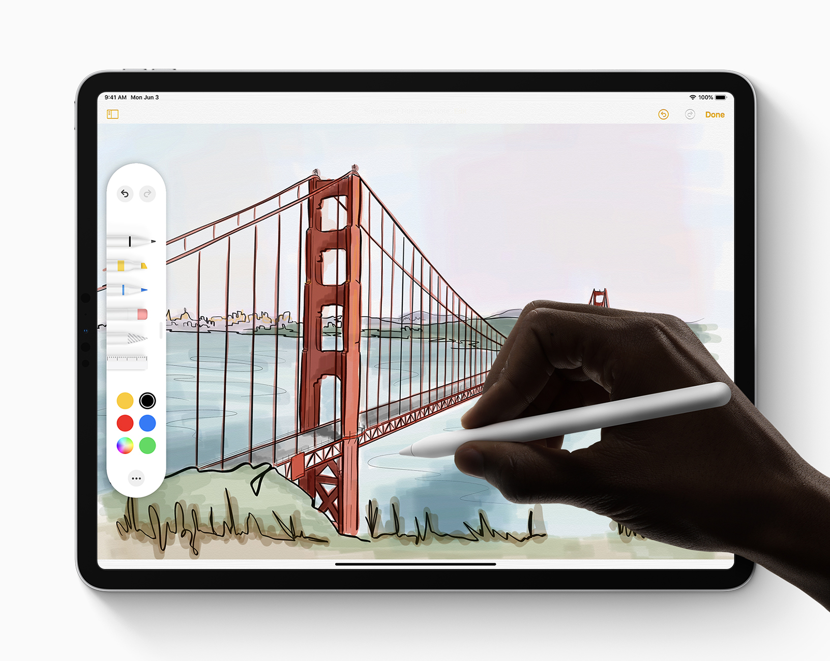 Apple iPadOS Apple-Pencil 060319
