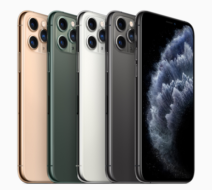 Apple iPhone-11-Pro Colors 091019
