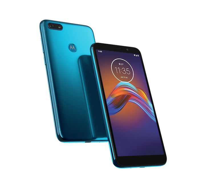 Moto E6 Play Tranquil Teal PDP HERO