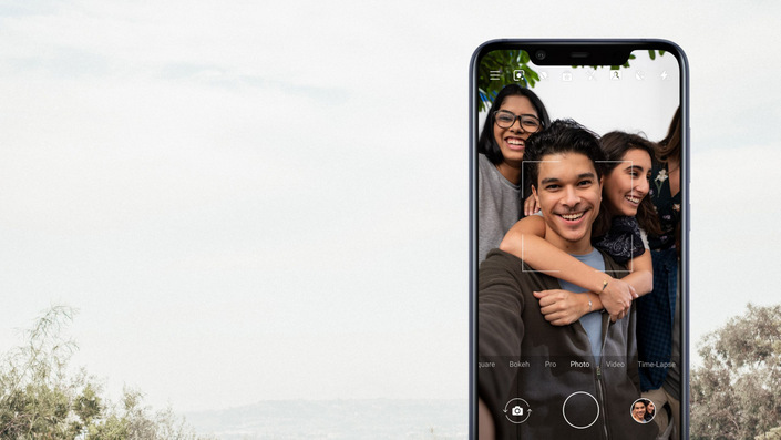 nokia 8 1-product page-camera selfie-d-notch