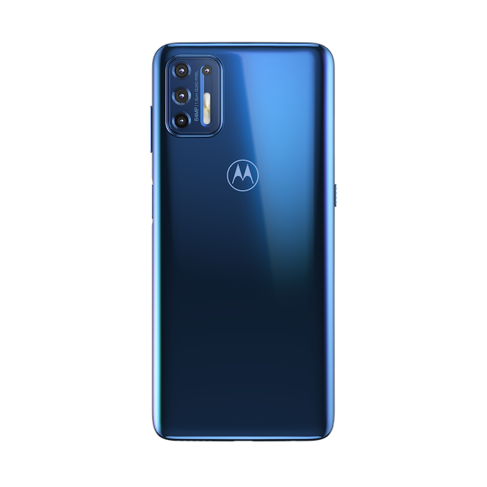 moto g9 plus NAVY BLUE BACKSIDE