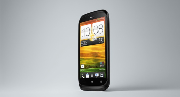 HTC Desire X Black 3-4 Left