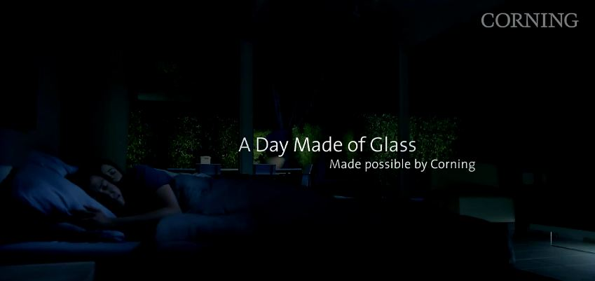 a day made of glass by corning