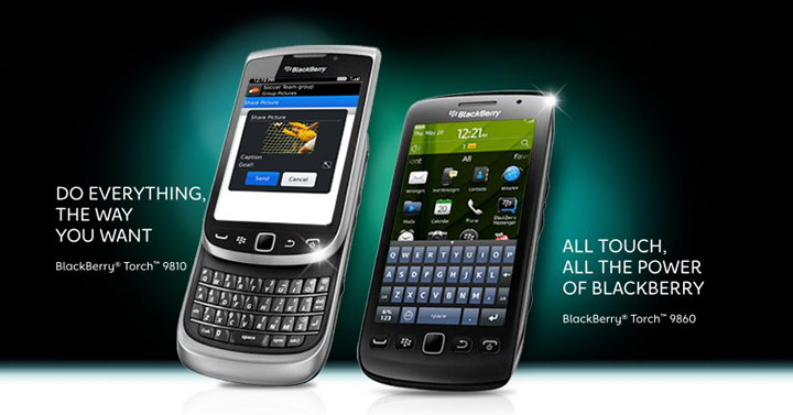 blackberry torch 9810 torch 9850 rim