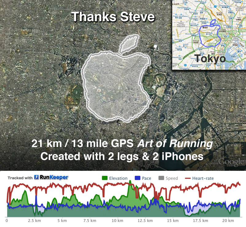gps-art-of-running-steve-jobs-apple-tokyo-joseph-tame