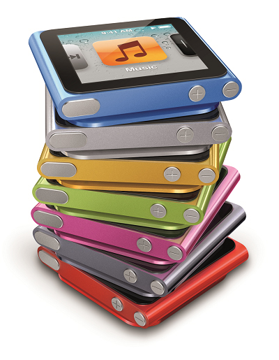 iPod nano Stack 7colors PRINT