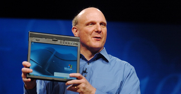 steve ballmer microsoft windows 8 tablet build