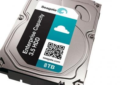 Seagate пуска първия в света 8 TB твърд диск