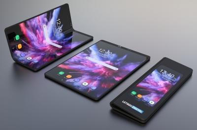 3D макет представя как би могъл да изглежда Samsung Galaxy F