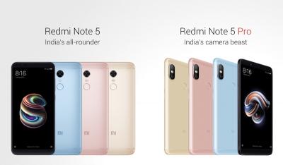 Xiaomi представи Redmi Note 5 и Redmi Note 5 Pro