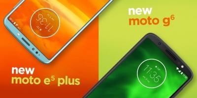 Motorola представи нови смартфони в сериите Moto G6 и Moto E5