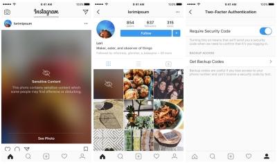 Instagram добавя двустепенна защита на акаунтите