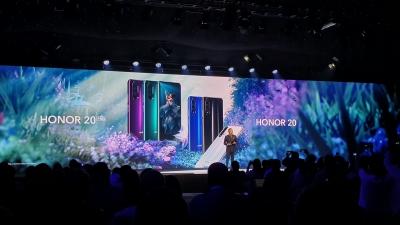 На живо от световната премиера на Honor 20, Honor 20 Pro и Honor 20 Lite
