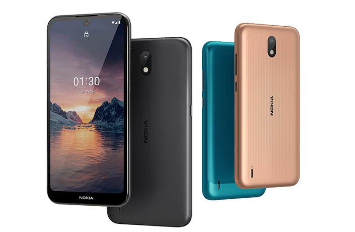 Nokia 1.3 е базов смартфон с Android 10 Go Edition