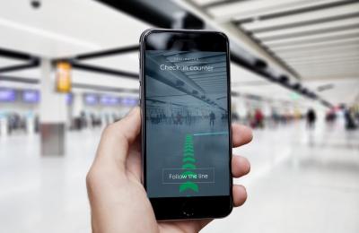 2000 сензора за близост осигуряват навигация на летище Гетуик