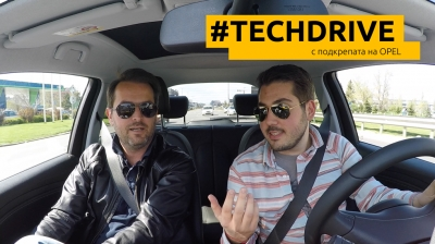 TECHDRIVE #1: Михаил Дюзев в Opel Adam Rocks