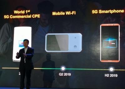 Huawei ще представи първия си 5G смартфон през втората половина на 2019 г.