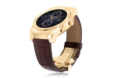 LG Watch Urbane Luxe е премиум часовник с 23-каратово злато и каишка от алигаторска кожа с цена $1200
