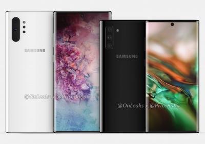 Samsung вероятно ще представи Note 10 на 7 август