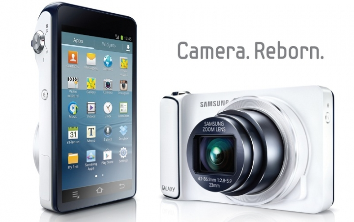 Samsung Galaxy Camera - 16 MP цифров фотоапарат с Android 4.1 Jelly Bean