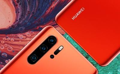 Huawei P30 Pro в цвят Amber Sunrise вече се предлага в България