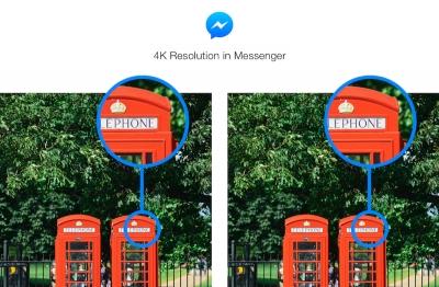 Facebook Messenger вече поддържа изпращане на снимки с по-висока резолюция