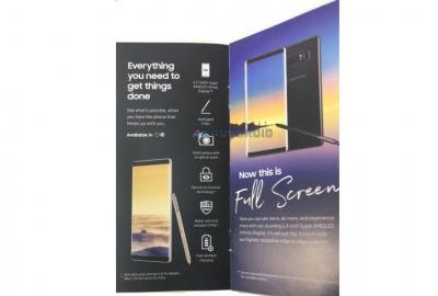 Рекламна брошура на Note 8 потвърди двойна камера с 2-кратен оптичен зуум