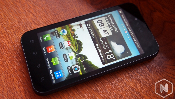 Ревю на LG Optimus Black