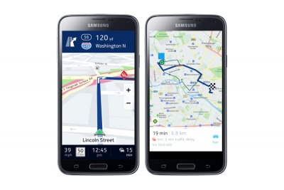 Навигацията Nokia HERE излиза за Android, ексклузивно за Samsung Galaxy