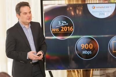 Атанас Добрев, VIVACOM: Над 80% от приходите от мобилни услуги идват от месечната такса