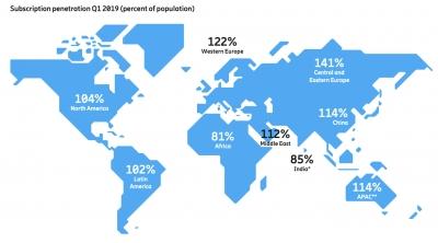 5G мрежите ще покриват 45% от световното население до 2024 г., прогнозира Ericsson