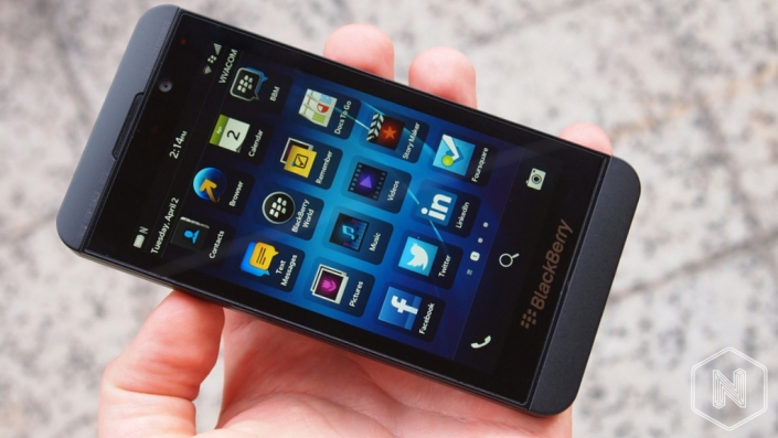 Ревю на BlackBerry Z10
