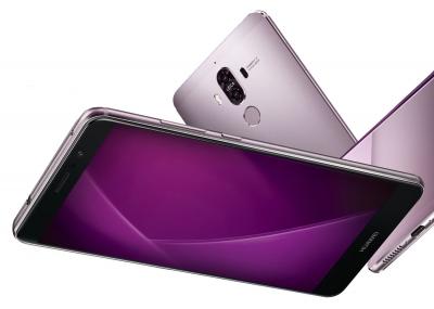 Ново изображение показва Huawei Mate 9 в лилаво