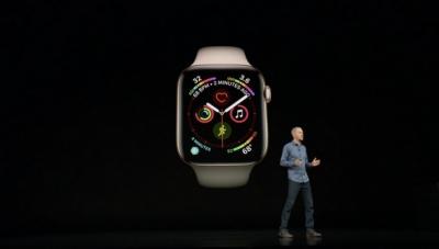 Apple Watch Series 4 предлага по-голям дисплей, по-силен звук и възможност за ЕКГ