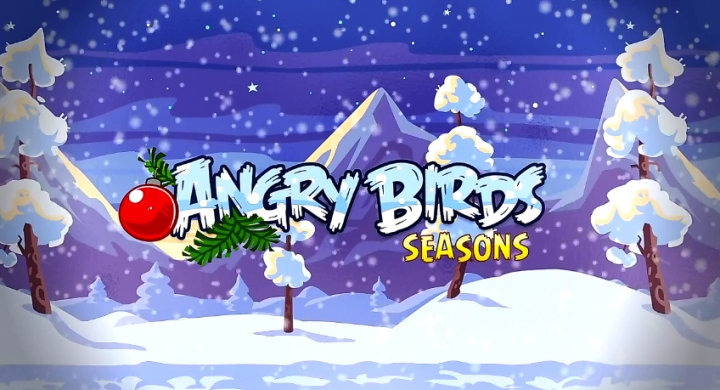 Новото коледно издание на Angry Birds Seasons вече пристигна