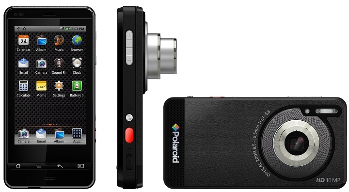Polaroid SC1630 Smart Camera е цифров фотоапарат с Android OS
