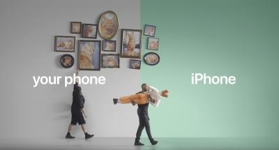 Нова серия видеа на Apple се прицелва в потребителите на Android