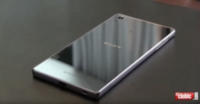 3-минутно видео на Sony Xperia Z5