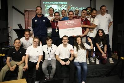 Приложение за спортни фенове с добавена реалност спечели adidas Hackathon: Sofia