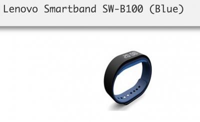Умната гривна Lenovo Smartband SW-B100 ще позволява автоматично отключване на РС-то