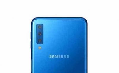 Galaxy A7 (2018) изглежда ще бъде първият смартфон с тройна камера на Samsung