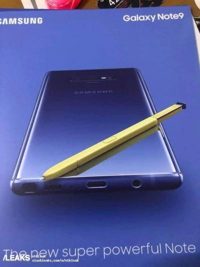 Появи се постер на необявения Samsung Galaxy Note 9